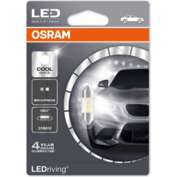 C5W OSRAM LEDriving 12V Cool White 6000K