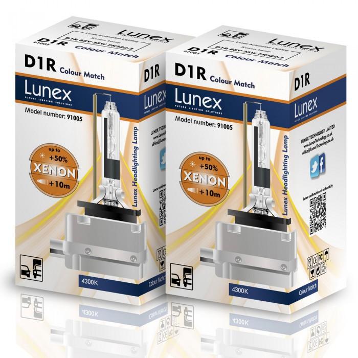 D1R LUNEX Standard 4300K Xenon (Pair)