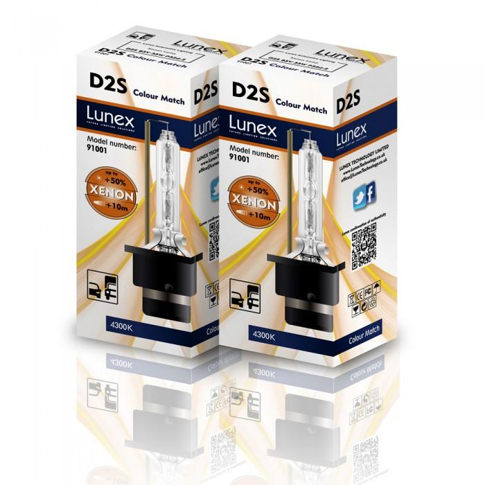 D2S LUNEX Standard 4300K Xenon (Pair)