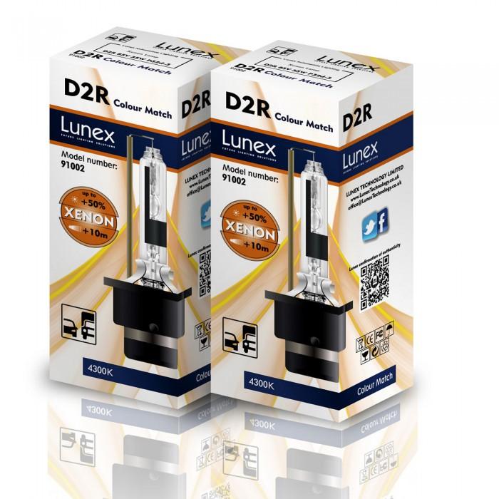 D2R LUNEX Standard 4300K Xenon (Pair)