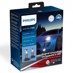 H4 PHILIPS LED  X-tremeUltinon (Pair)