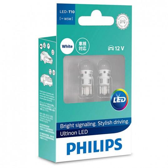 T10 PHILIPS LED 12V (Pair)