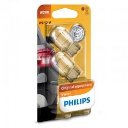 W21W PHILIPS 12V 21W W3x16d (Pair)