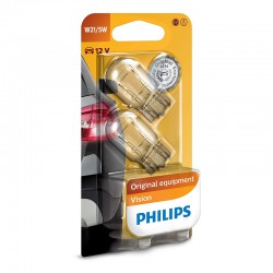 W21/5W PHILIPS 12V 21/5W W3x16q (Pair)