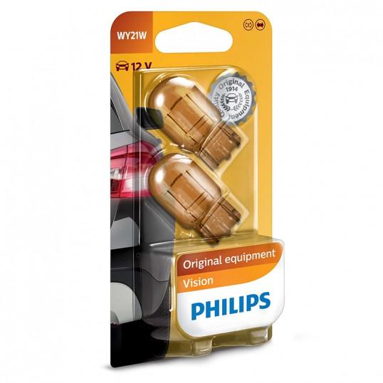 WY21W PHILIPS 12V 21W WX3x16d (Pair)