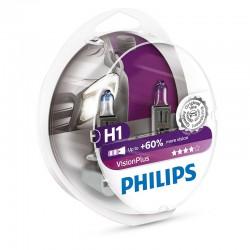 H1 PHILIPS 12V VisionPlus (Pair)