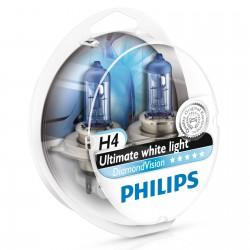 H4 PHILIPS DiamondVision 5000K (Pair)