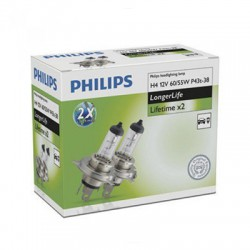 H4 PHILIPS LongerLife (Pair)