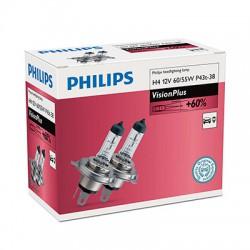 H4 PHILIPS VisionPlus (Pair)