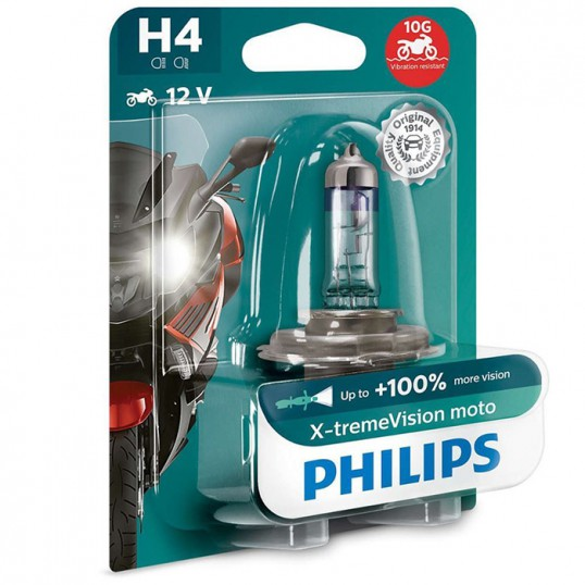 H4 PHILIPS X-tremeVision 3500K