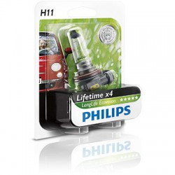 H11 PHILIPS LongLife EcoVision
