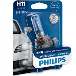 H11 PHILIPS WhiteVision 3700K