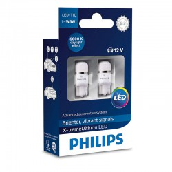 W5W PHILIPS X-tremeVision LED 6000K (Pair)