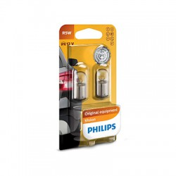 R5W PHILIPS 12V 5W BA15s (Pair)