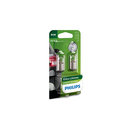 R5W PHILIPS LongLife EcoVision (Pair)