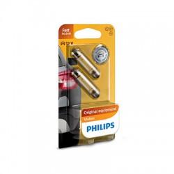 PHILIPS Festoon 12V 10W SV8,5 T10,5x43