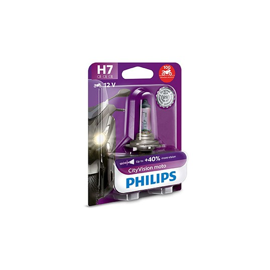 H7 PHILIPS CityVision Moto