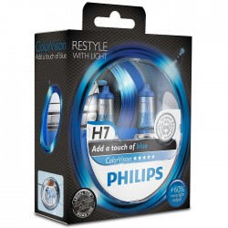 H7 PHILIPS ColorVision Blue 3350K (Pair)