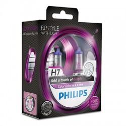 H7 PHILIPS ColorVision Purple 3350K  (Pair)