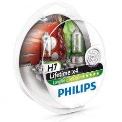 H7 PHILIPS LongLife EcoVision (Pair)