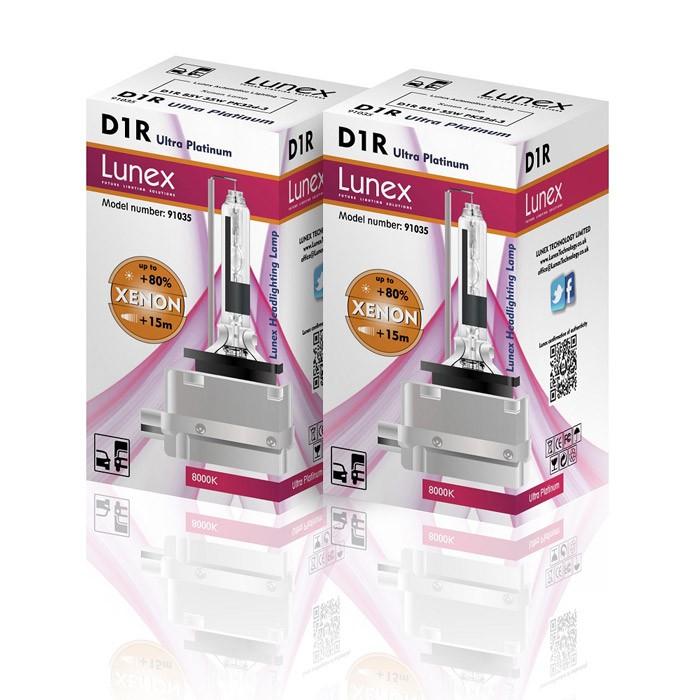 D1R LUNEX Premium 8000K Xenon (Pair)