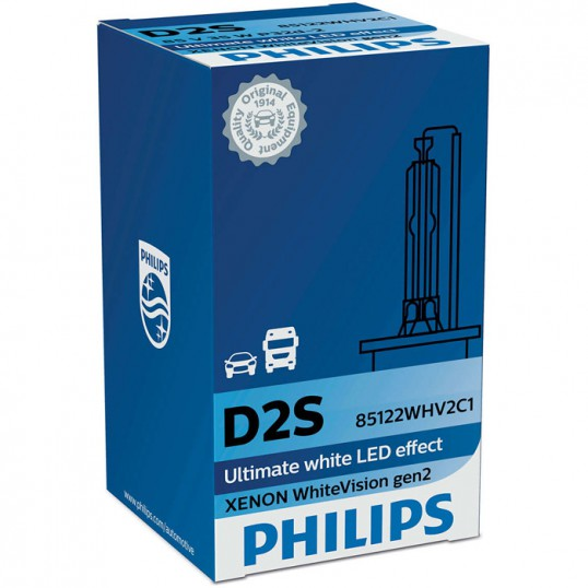 D2S PHILIPS WhiteVision 5000K