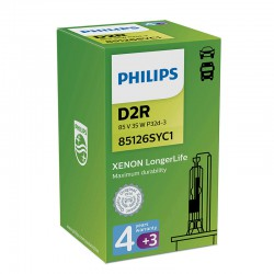 D2R PHILIPS Xenon Warranty 4300K