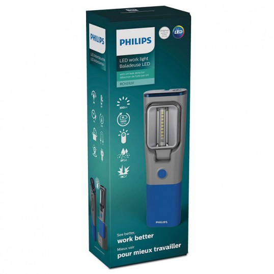 PHILIPS LED Inspection lamp with docking station RCH31