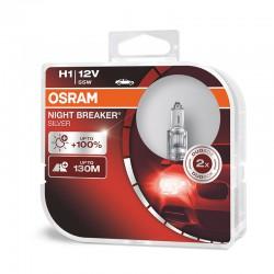 OSRAM H1 NIGHT BREAKER SILVER (Pair)