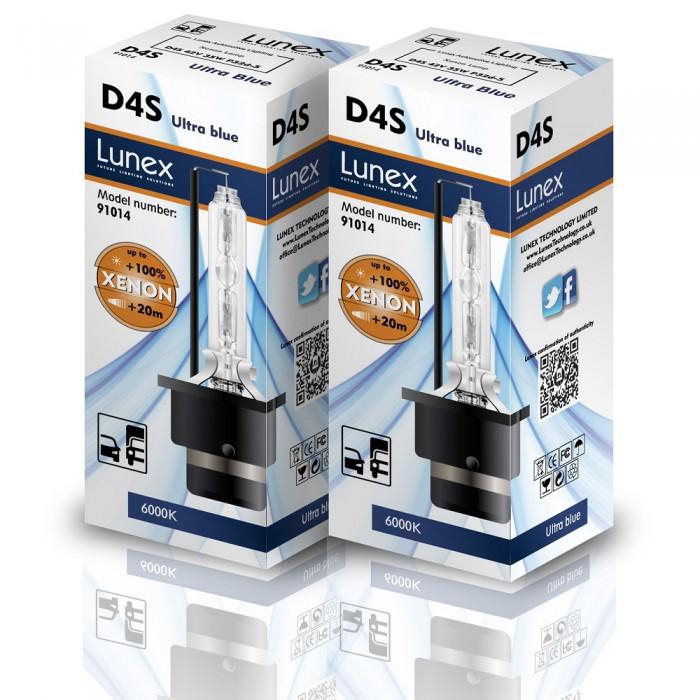 D4S LUNEX Premium 6000K Xenon (Pair)