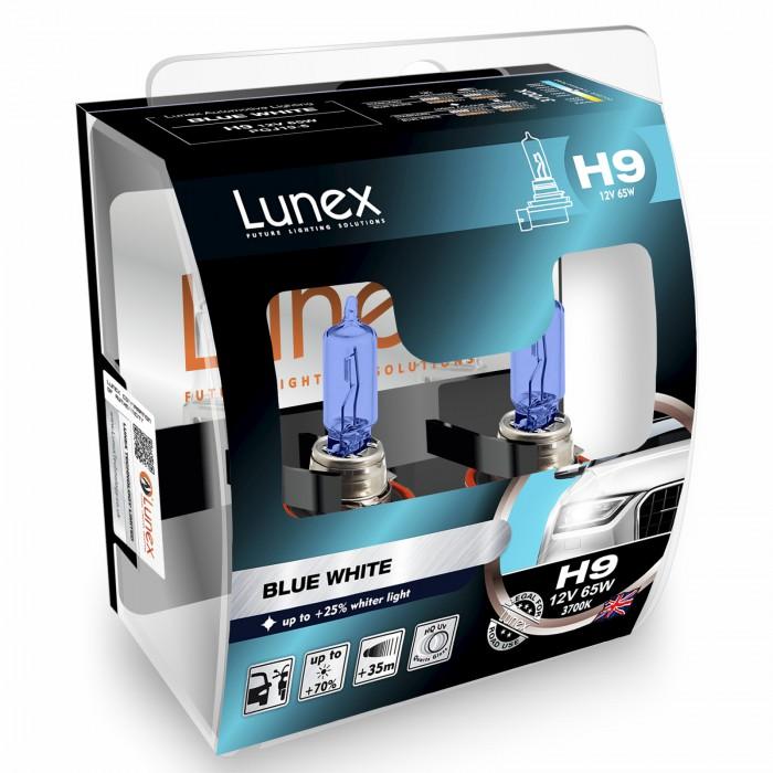 H9 LUNEX BLUE WHITE 3700K (Pair)