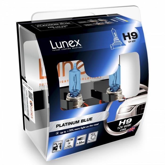 H9 LUNEX PLATINUM BLUE 4700K (Pair)