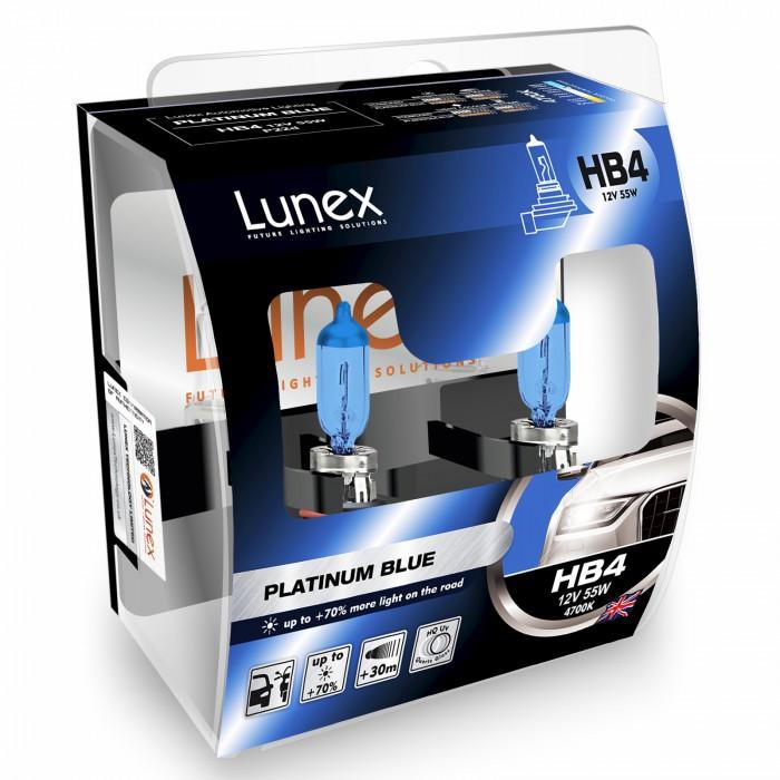 9006(HB4) LUNEX PLATINUM BLUE 4700K (Pair)