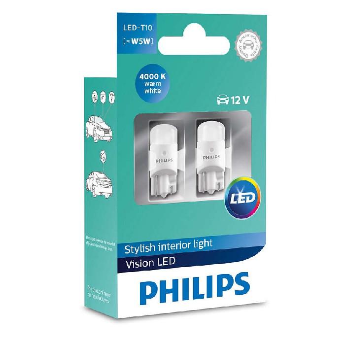 PHILIPS T10 LED (Pair)
