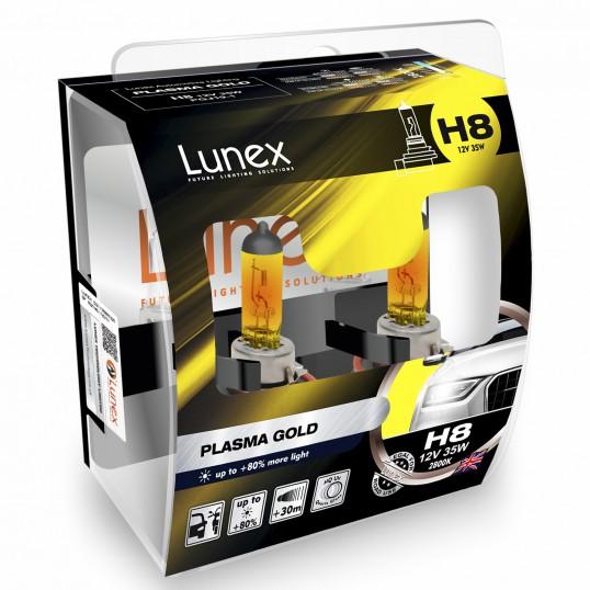 H8 LUNEX PLASMA GOLD 2800K