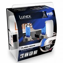 H8 LUNEX PLASMA XENON 5000K (Pair)