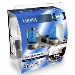 H4 LUNEX PLATINUM WHITE 4000K (Pair)