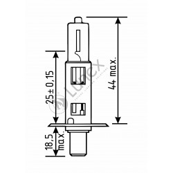 H1 LUNEX SUPREME VISION 3700K (Pair)