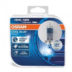 H4 OSRAM COOL BLUE BOOST 5000K (Pair)