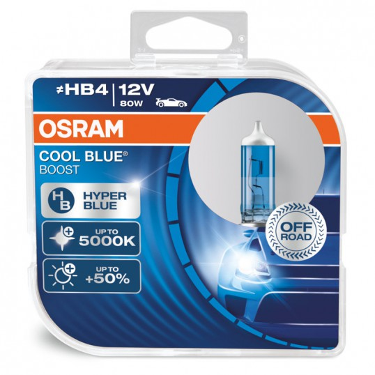 HB4 OSRAM COOL BLUE BOOST 5000K (Pair)