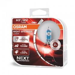H7 OSRAM NIGHT BREAKER LASER NEXT GENERATION (Pair)