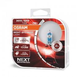H11 OSRAM NIGHT BREAKER LASER NEXT GENERATION (Pair)