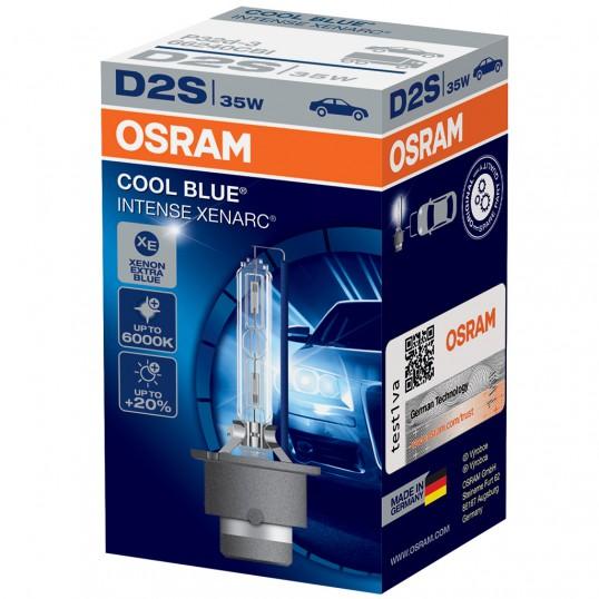 D2S OSRAM COOL BLUE 6000K