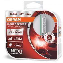 D4S OSRAM NIGHT BREAKER LASER NEXT GENERATION (Pair)